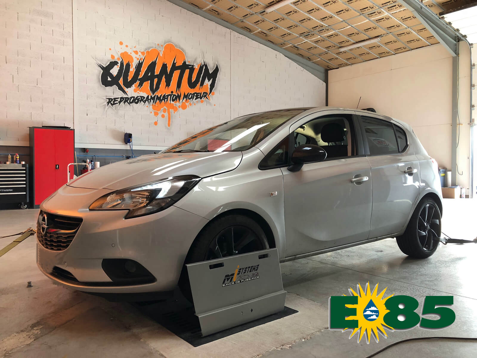 Corsa E85 flexfuel, quantum tuning france