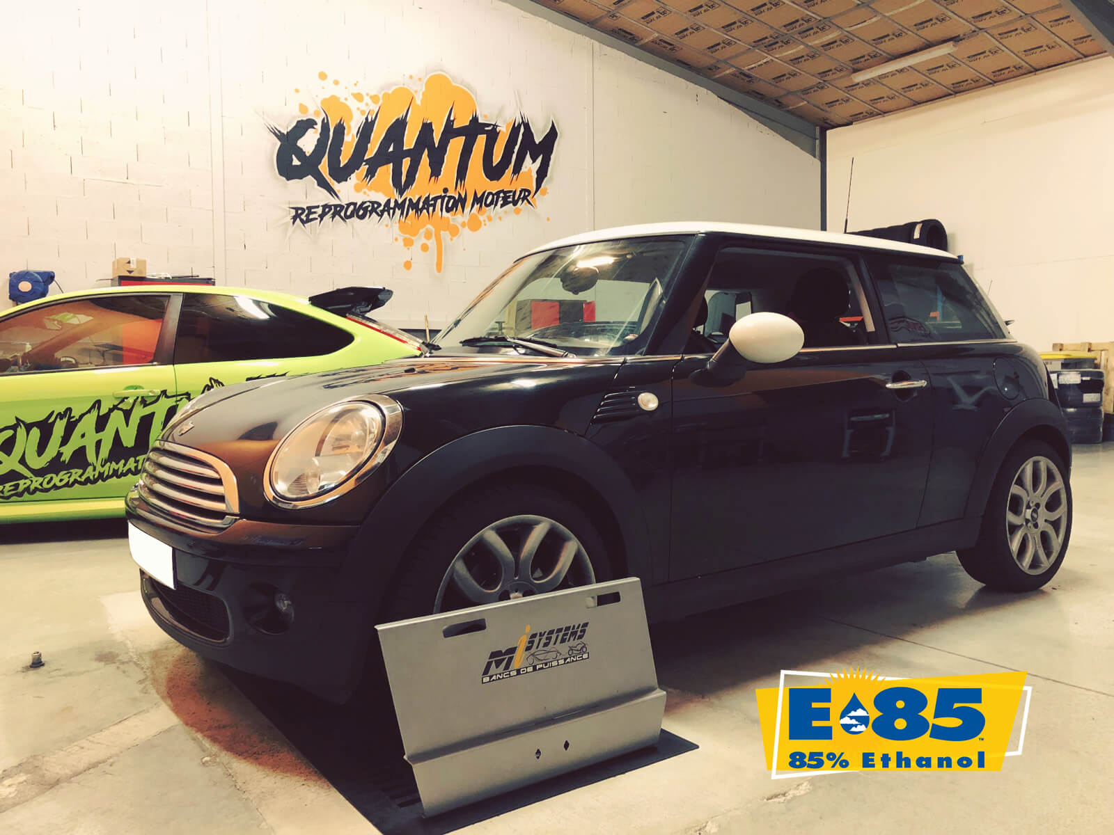 1.6, mini, e85 flexfuel, quantum tuning france