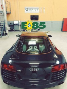 R8, E85, conversion, quantum tuning France, reprogrammation moteur